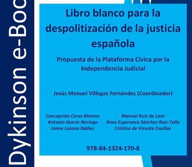 Libro blanco para la despolitización de la justicia española