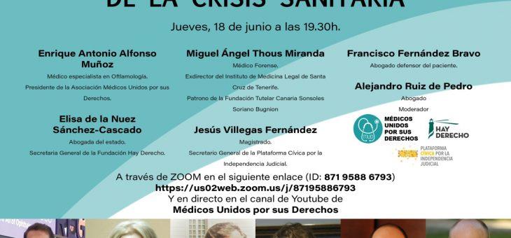 Debate crisis sanitaria: 18/06/2020